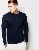 Asos Sweatshirt In Navy