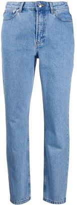 A.P.C. Low-Waist Boyfriend Jeans