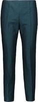 M Missoni Cropped cloqué straight-leg pants