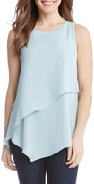 Karen Kane Women's Asymmetrical Double Layer Top