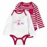 Cherokee Baby Girls 2-Pack Bodysuit