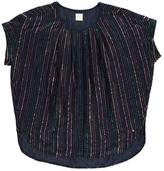 Des Petits Hauts Sale - Wallace Lurex Striped Blouse
