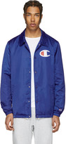 Champion Reverse Weave Blue Coach Track Jacket