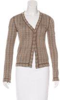 Marni Knit Patterned Cardigan