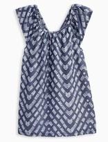 Splendid Little Girl Printed Denim Dress