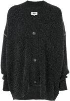 MM6 MAISON MARGIELA Oversized cardigan - women - Acrylic/Polyamide/Spandex/Elastane/Wool - M