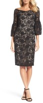 Adrianna Papell Women's Juliet Lace Off The Shoulder Dress