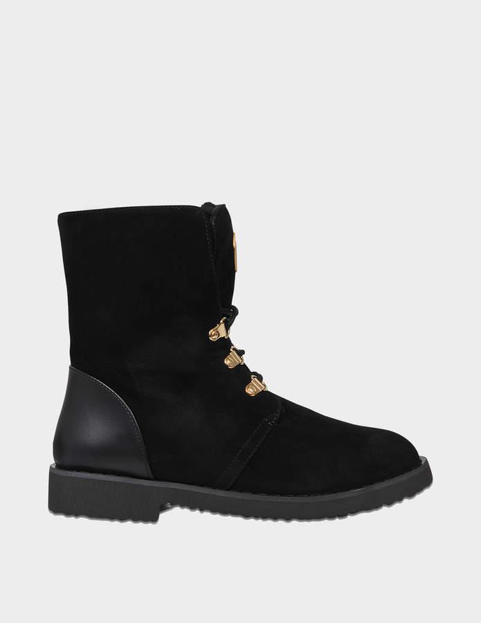Giuseppe Zanotti Sherling hiking boots