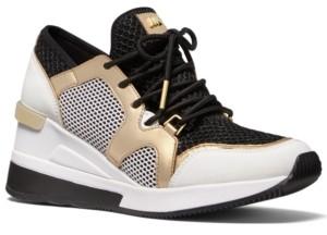 Michael Kors Michael Liv Trainer Signature Logo Sneakers Women's Shoes