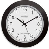 La Crosse Technology Atomic Wall Clock With Black Frame
