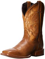 Stetson Men's Burnished Ficcini Square Toe Riding Boot