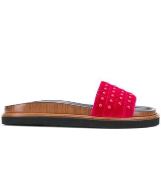 Tod's Studded Slides