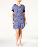 DKNY Plus Size Short-Sleeve Sleepshirt