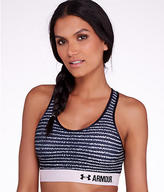 Under Armour Printed Armour Mid Control Sports Bra