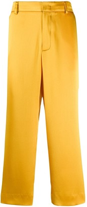 Sies Marjan Satin Cropped Pants