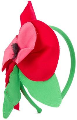 Piccola Ludo Oversized Floral Applique Headband