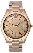 Emporio Armani Armani Classic Rose-Gold Stainless Steel Men's watch #AR2061