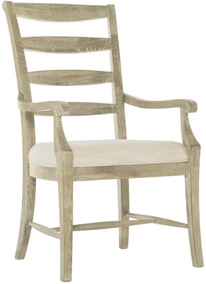 Bernhardt Rustic Patina Ladderback Arm Chair