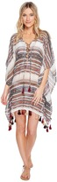 Becca by Rebecca Virtue Shoreline Poncho Cover-Up Women's Swimwear
