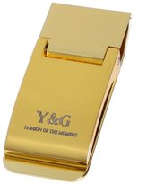 Gold Stainless Steel Money Clip Groomsman Gift Gold By Y&G