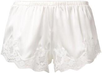 Dolce & Gabbana Lace Detail Shorts