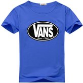 Vans Classic Logo Graphic For Boys Girls T-shirt Tee Tops