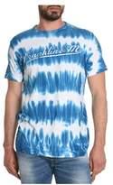 Franklin & Marshall Men's Light Blue/white Cotton T-shirt.