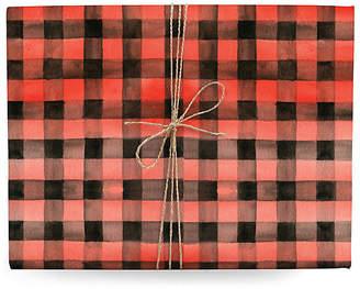 Lana's Shop Set of 3 Gingham Gift Wrap