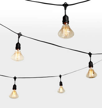 Rejuvenation 24 Br95 Large Filament Amber Bulb String Lights