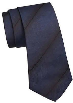 Emporio Armani Ombre Stripe Silk Tie
