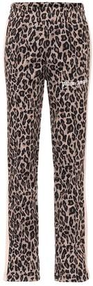 Palm Angels Leopard-print trackpants