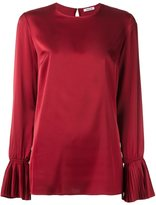 P.A.R.O.S.H. pleated cuff blouse - women - Polyester - XL