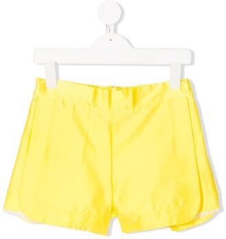 Mi Mi Sol Pleated Short Shorts
