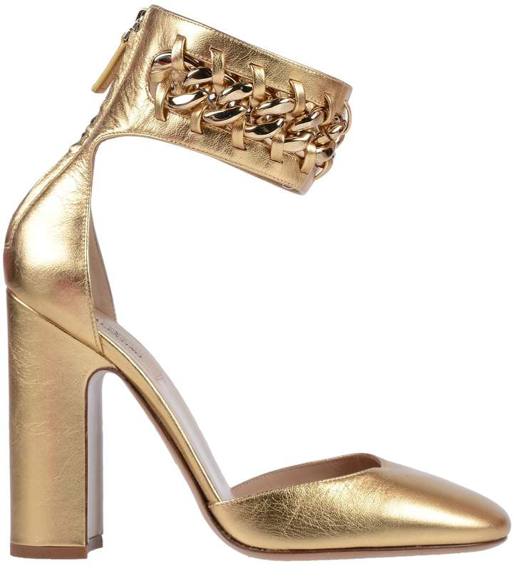 fd56c8014abab Valentino Gold Pumps - ShopStyle
