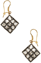 Amrapali Women's Silver, Gold & 1.22 Total Ct. Diamond Drop Earrings