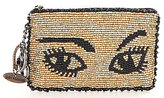 Mary Frances Watch Out Beaded Coin Purse