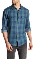 Faherty Belmar Plaid Long Sleeve Regular Fit Shirt