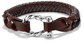 David Yurman Men's Maritime Woven Leather Bracelet