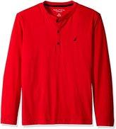 Nautica Men's Long-Sleeve Henley Shirt