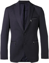 HUGO BOSS classic blazer - men - Cotton/Polyester/Cupro - 48