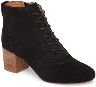 Madewell The Emilia Lace-Up Bootie