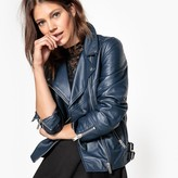 La Redoute Collections Leather Biker Jacket