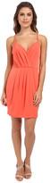 BCBGeneration Cross Front Short Dress