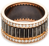 Walters Faith Clive Thin Diamond Fluted Band Ring