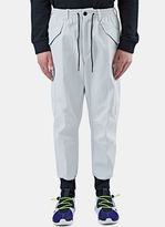 Y-3 Men's Future Cargo Pants In White