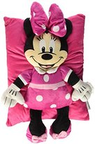 Disney Minnie Bow Plush Character Pillow