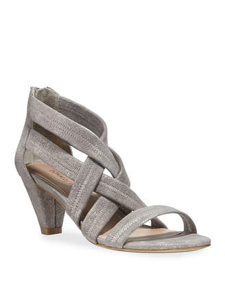 Donald J Pliner Vida Shimmer Stretch Sandals