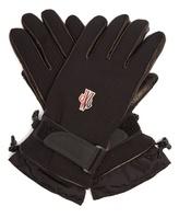 Moncler Technical fleece-lined gloves
