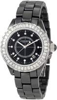 Akribos XXIV Women's AK500BK Ceramic Interchangeable Bezel Bracelet Watch