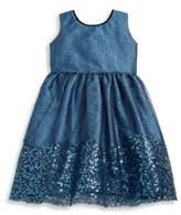 Isabel Garreton Toddler's & Little Girl's Mesh Sequin Dress